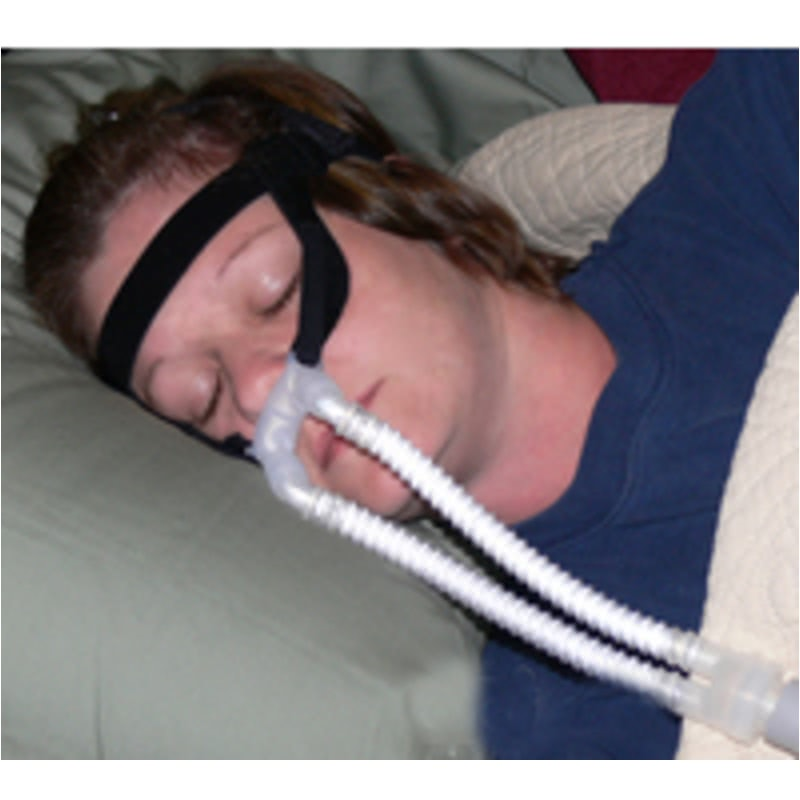 Cpap Com Nasal Aire Ii Petite Prong Cpap Mask With Headgear